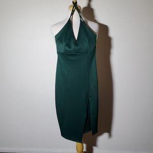 Windsor Deep Green Party Cocktail Dress Size S